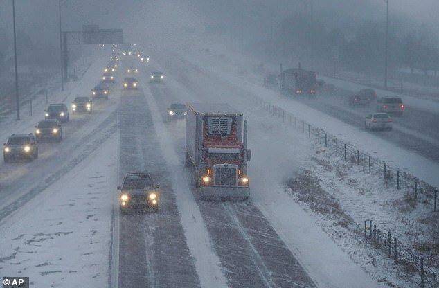 طوفان کولاک برف سرما زمستان آمریکا