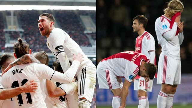 رئال مادرید و آژاکس