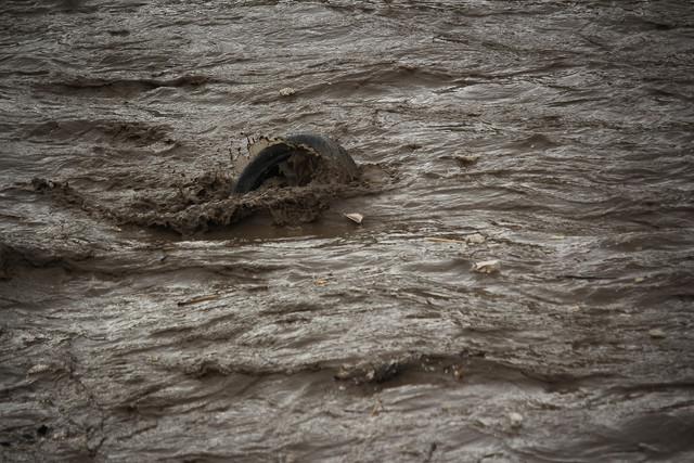 بارندگی شدید در تبریز