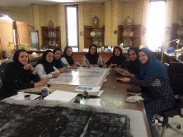 ساخت کتیبه دفاع مقدس با الهام از سرو ایرانی