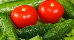 خیار و گوجه