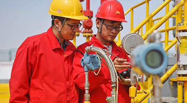 کل بازار گاز چین