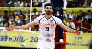 امیر غفور، پشت خط زن تیم ملی والیبال