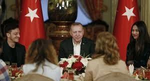 اوزیل مهمان سفره افطار اردوغان