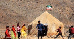 چادر برای مدارس آسیبدیده عشایری