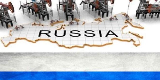 افت تولید نفت روسیه