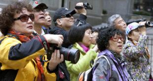 کاهش گردشگران چینی
