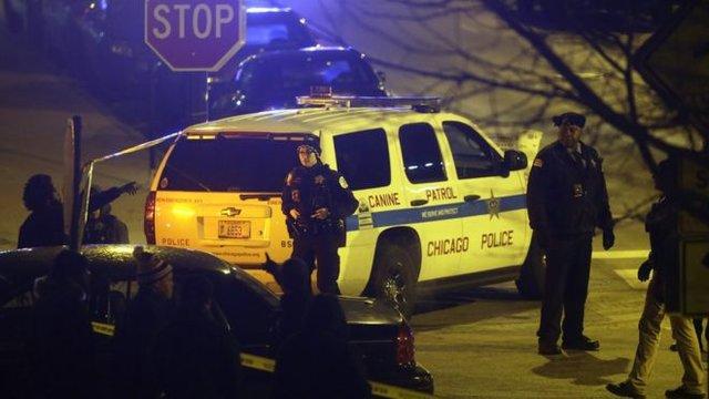 تیراندازی سرقت پلیس آمریکا