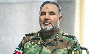 امیر سرتیپ کیومرث حیدری فرمانده نیروی زمینی ارتش