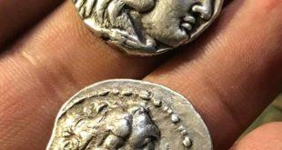 سکه رومی باستانی