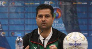 سرمربی تیم فوتسال زیر ۲۰ سال ایران
