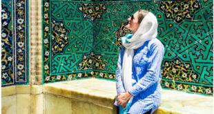 گردشگران ایرانی با حجاب