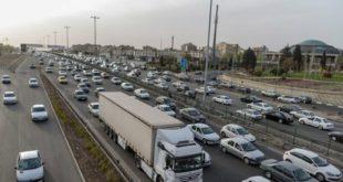 ترافیک جاده های شمال