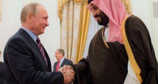 رئیس جمهوری روسیه و ولیعهد عربستان