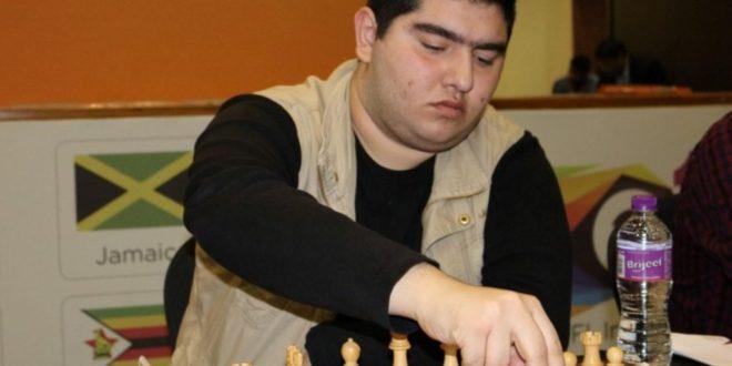 پرهام مقصودلو نماینده شطرنج ایران