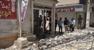 زلزله خوزستان