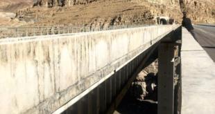 پل های بزرگ در محور ارتباطی کندوان