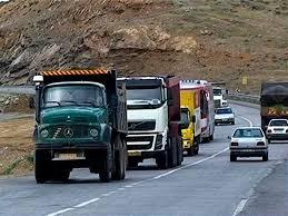 تردد وسیله نقلیه سنگین