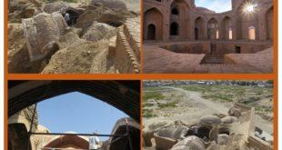 مرمت مدرسه تاریخی علیا در شهرستان فردوس