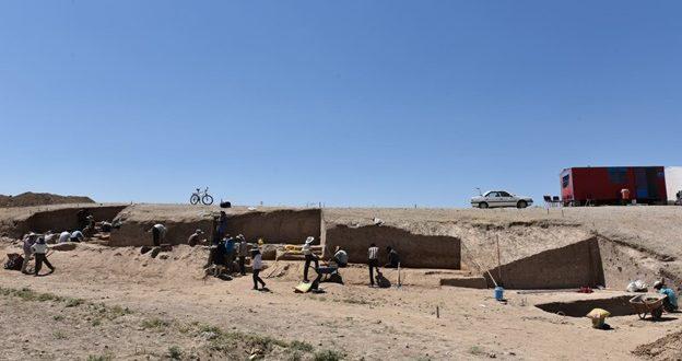 کشف شواهد گسترده تولید آهن در تپهبرج نیشابور