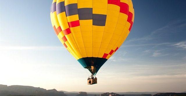 پرواز اولین بالن تفریحی در شهر گرگان همزمان با جشنواره تابستانی هیرکان