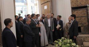 رئیس سازمان میراثفرهنگی از بازار نراق بازدید کرد