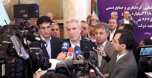 افتتاح یک هتل 5 ستاره در تهران با حضور دکتر مونسان