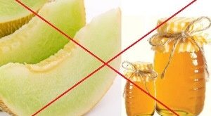 Melon and honey