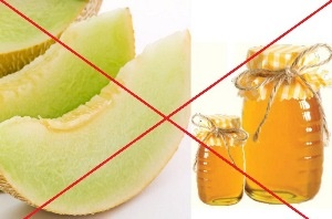 Melon and honey