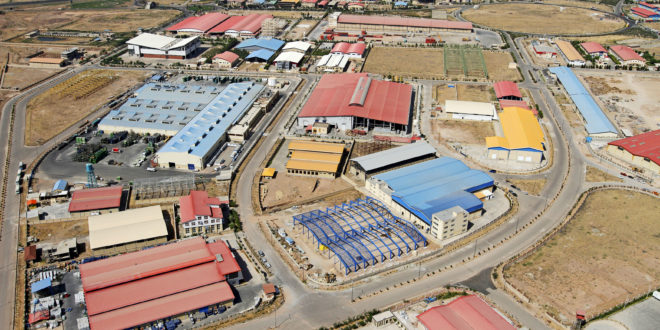 Industrial settlements of West Azerbaijan