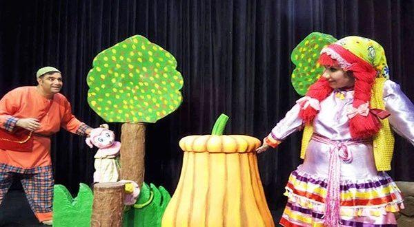 نمایش عروسکی دزد قصه ها