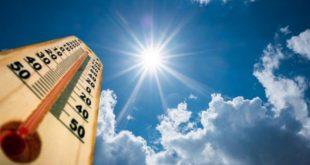 Relative temperature increase