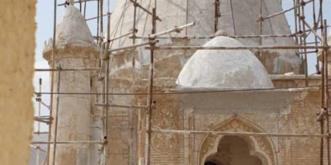 مرمت آرامگاه شیخ عبدالقادر بستکی