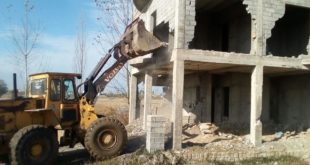 Demolition of unauthorized constructions
