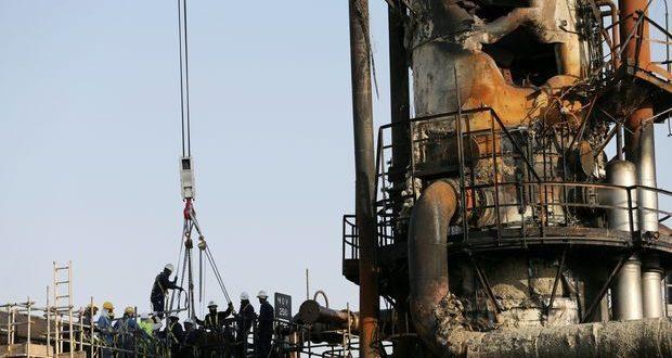 بازسازی تأسیسات نفتی عربستان