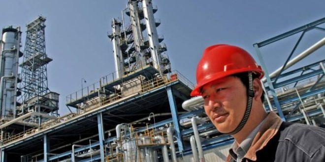 افزایش پالایش نفت خام چین