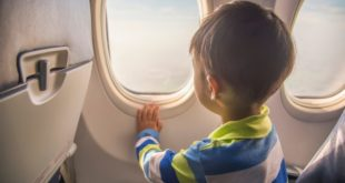 Tips on air travel with children