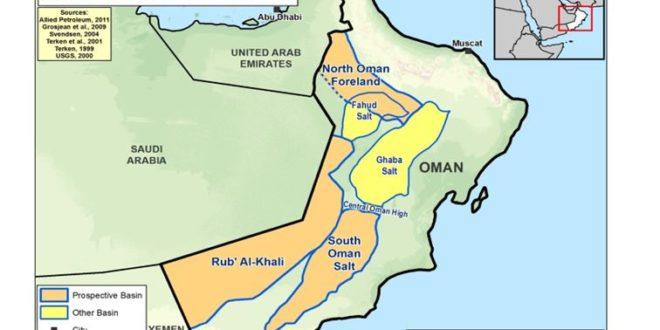 تولید نفت عمان