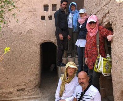 حضور گردشگران سوییسی و بلژیکی در سیستان و بلوچستان
