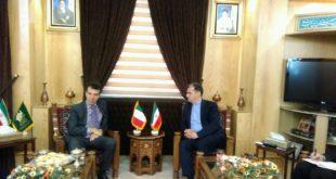 سفیر ایتالیا در سفر به مشهد
