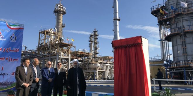 تولید روزانه گازوئیل یورو ۵ پالایشگاه ستاره خلیجفارس به ۲۰ میلیون لیتر رسید