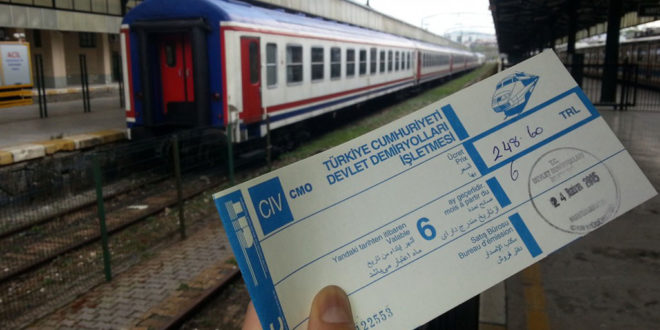 Train ticket