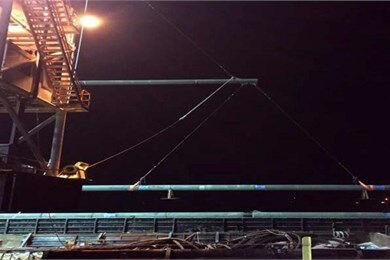 خط لوله دریایی فاز ۱۶ پارس جنوبی تعمیر و راهاندازی شد