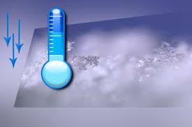 کاهش دمای هوا