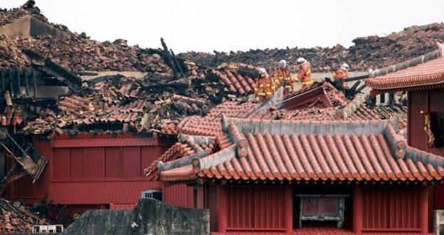 مرمت قلعه۶۰۰ ساله ژاپن