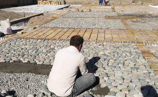محوطهسازی خانه تاریخی دانش