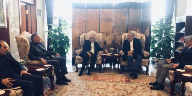 وزیر میراث فرهنگی، صنایع دستی و گردشگری وارد چین شد