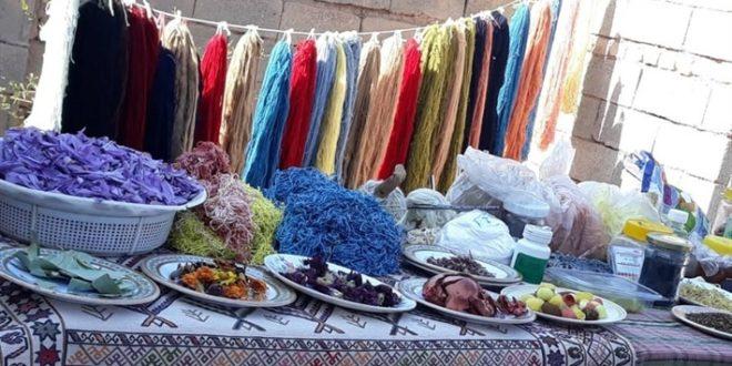 نخریسی و رنگریزی سنتی