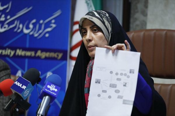 نشست خبری سیده حمیده زرآبادی در خبرگزاری آنا