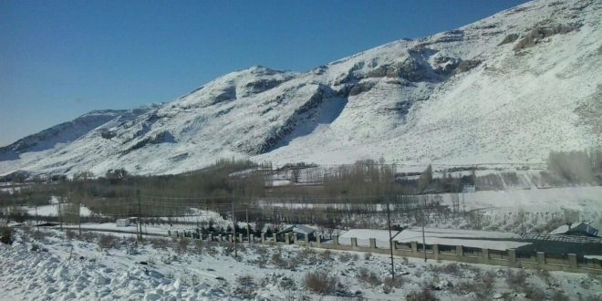 استقرار ماموران راهداری زمستاني در نقاط کوهستانی تربت جام
